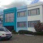 Fassadengestalltung Firmengeb. in Kaltenkirchen nachher