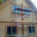 Holzhaus vorher