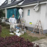WDVS, EFH, in Kiel, wird armiert