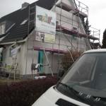WDVS, EFH, in Kiel, wird armiert (4)